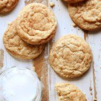 Classic snickerdoodle cookies | completelydelicious.com