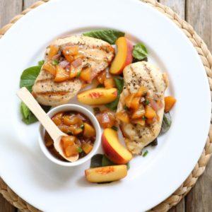 Peach Jalapeño Chutney from completelydelicious.com