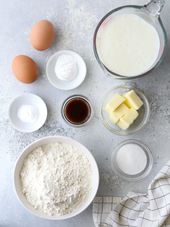 Buttermilk is the star ingredient of these light and fluffy pancakes!