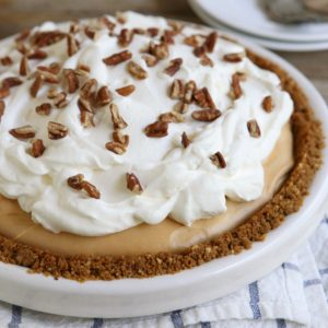 Caramel Cream Pie from completelydelicious.com