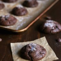 Chewy Chocolate Cookies from completelydelicious.com