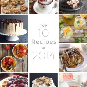 Top 10 Recipes of 2014 from completelydelicious.com