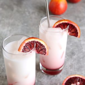 Blood Orange Italian Sodas   completelydelicious.com
