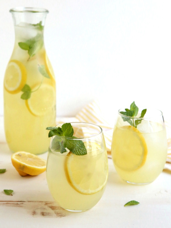 ... ginger lemonade a light and refreshing lemonade with a hint of ginger