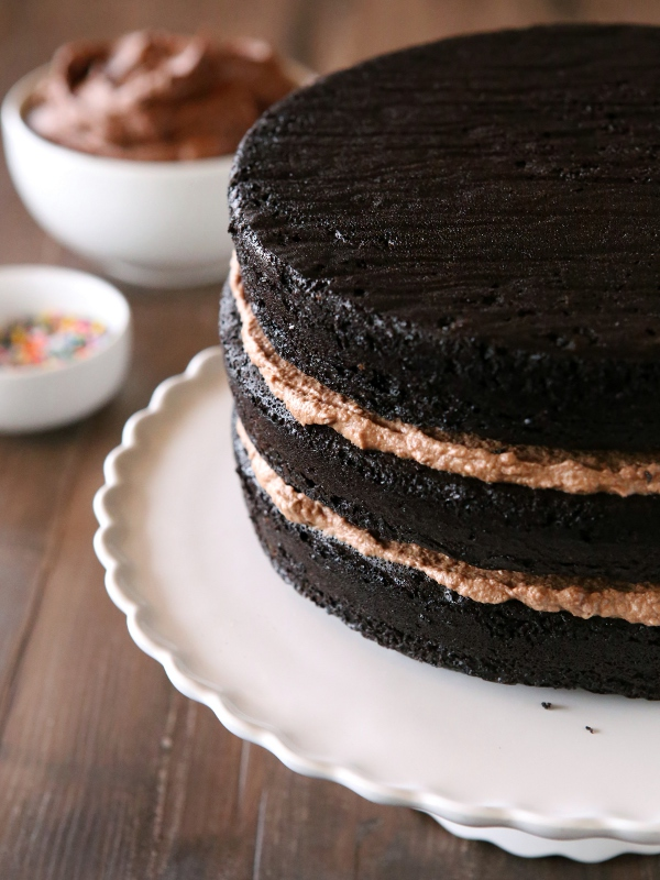 Chocolate Fudge Layer Cake Completely Delicious