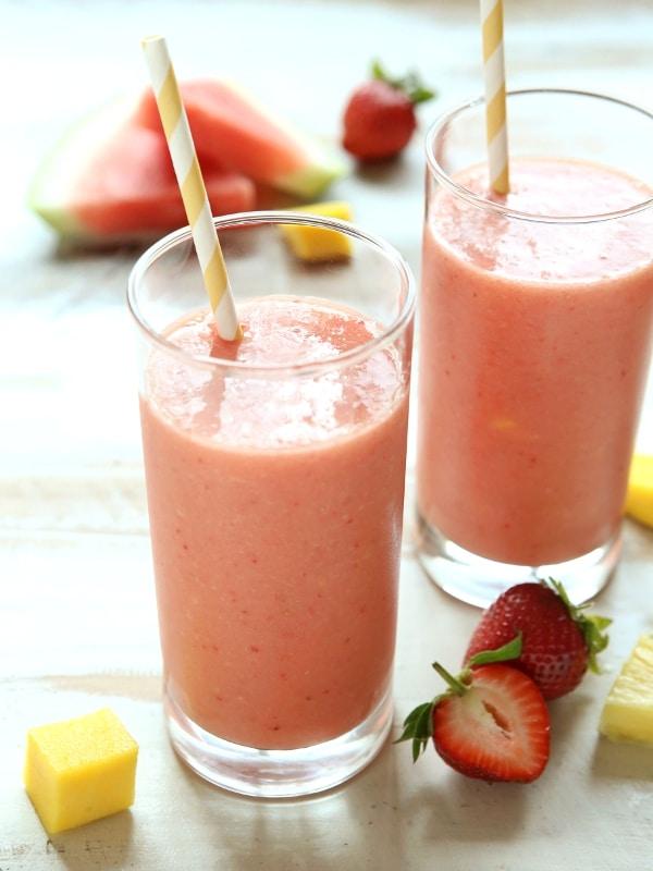 Tutti-Frutti Smoothie | completelydelicious.com