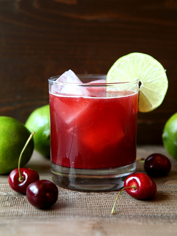 Cherry Limeade - Completely Delicious