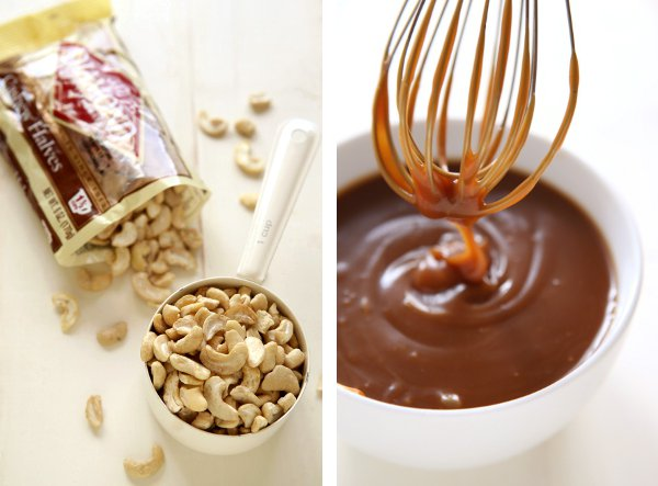 Caramel Cashew Ice Cream | completelydelicious.com