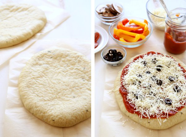 Jun 01,  · Recipe Notes. If baking frozen pizza, remove pizza from freezer - remove all wrappings. Place pizza in a ° oven and bake for minutes, depending on how crispy you like the crust! * This recipe is made with Einkorn Flour, but will work well with regular flour as newcased.mls: 4.