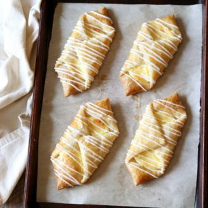 Cream Cheese Danishes | completelydelicious.com