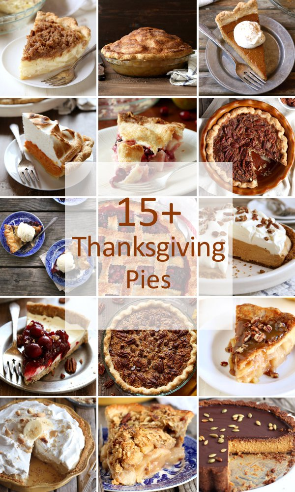 15+ pies perfect for Thanksgiving
