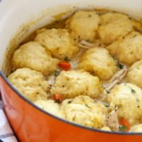 Turkey and Dumplings | completelydelicious.com
