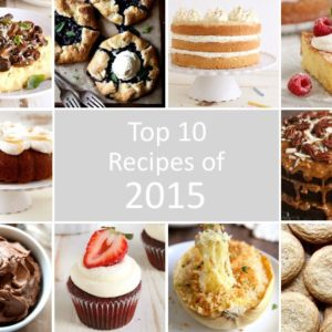 Top 10 recipes of 2015 | completelydelicious.com
