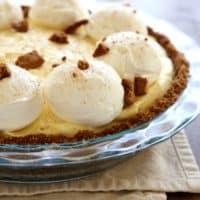 Eggnog Cream Pie   completelydelicious.com