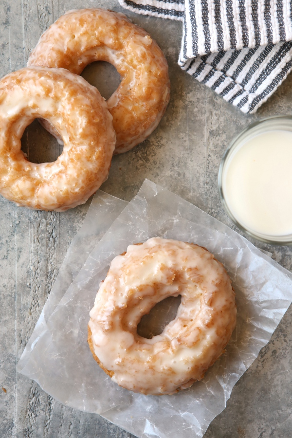 Old-Fashioned Buttermilk Doughnuts | completelydelicious.com