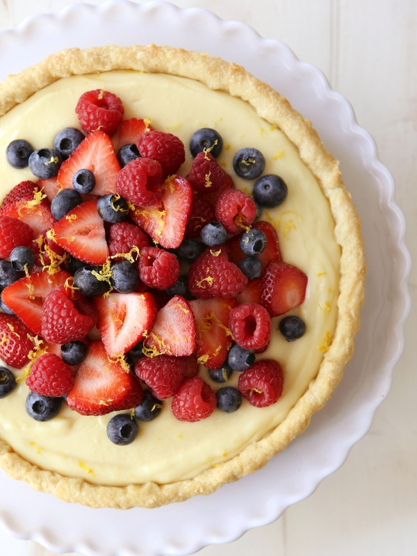 ... lemon tart luscious berry lemon tart recipes dishmaps luscious berry