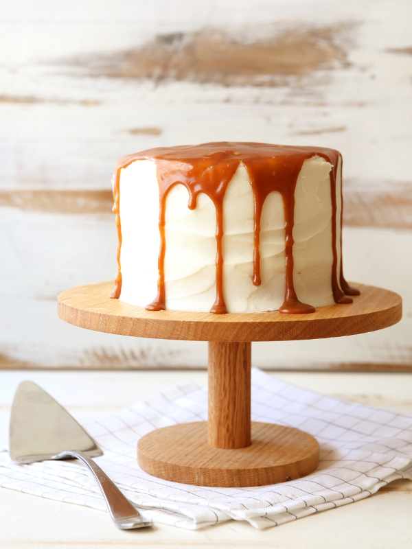 Zucchini Caramel Cake with Cream Cheese Buttercream ...