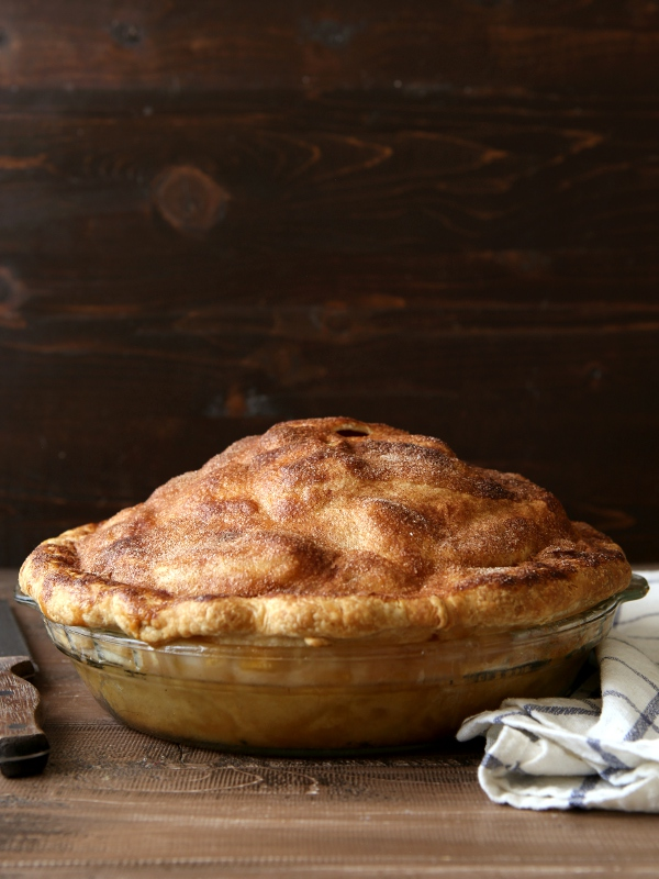 Mile High Apple Pie | completelydelicious.com