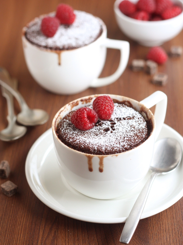 Two Minute Chocolate Mug Cake Completely Delicious