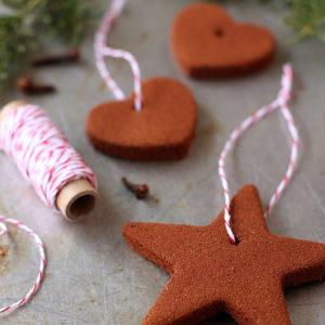 homemade cinnamon ornaments - Gingerbread Christmas Ornaments