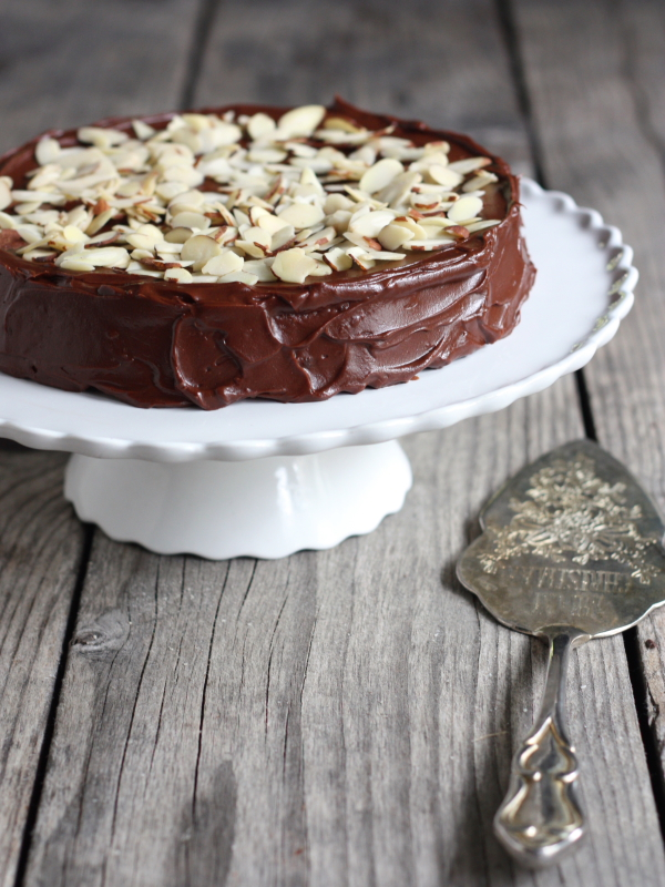 Chocolate Almond Cake Recipe — Dishmaps