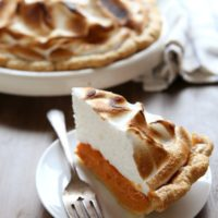 Sweet Potato Pie with Toasted Marshmallow Meringue   completelydelicious.com