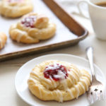 Spiced Cranberry Orange Danishes | completelydelicious.com