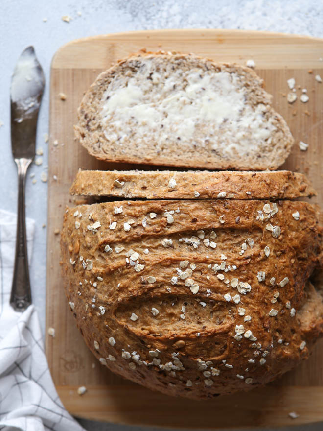 Rustic Multigrain Bread Completely Delicious