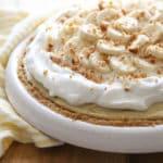 Bourbon Banana Cream Pie | completelydelicious.com