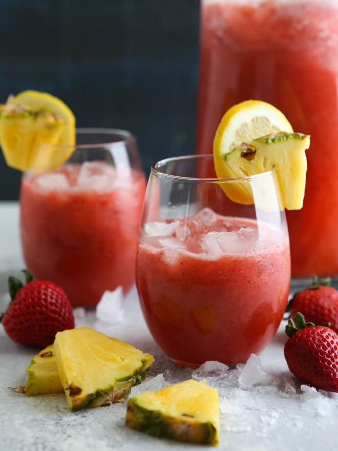 Strawberry Pineapple Punch | completelydelicious.com