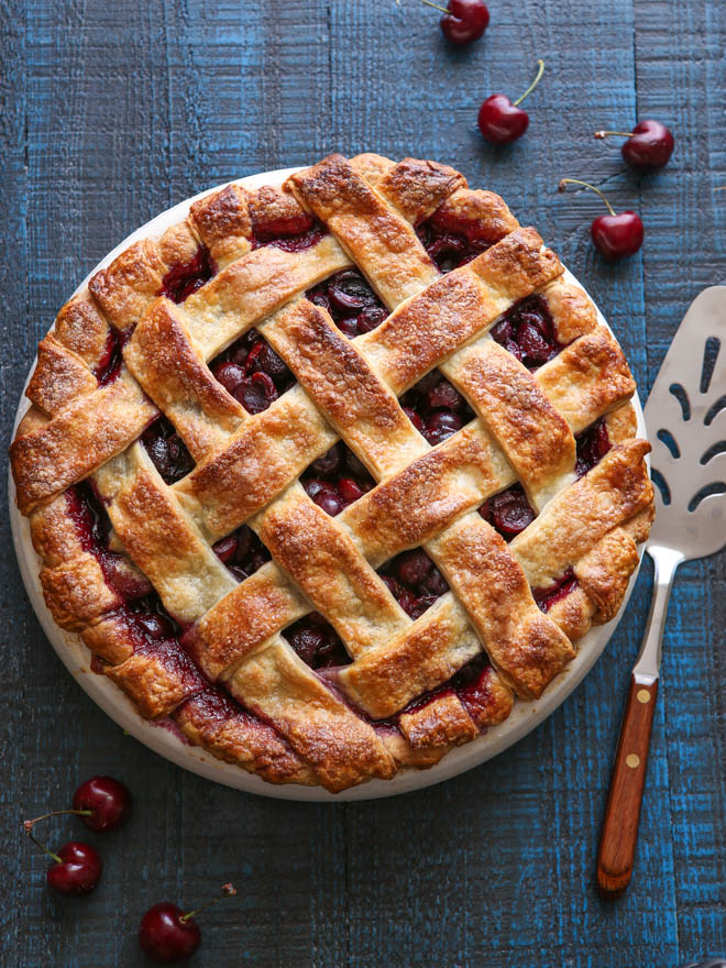 Sweet Cherry Pie - Completely Delicious