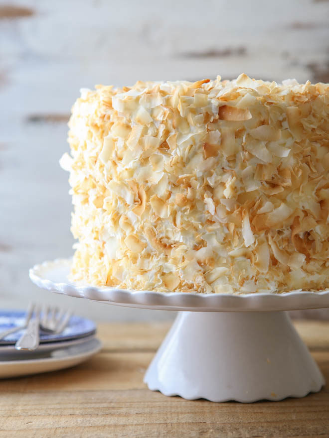 Southern Coconut Layer Cake