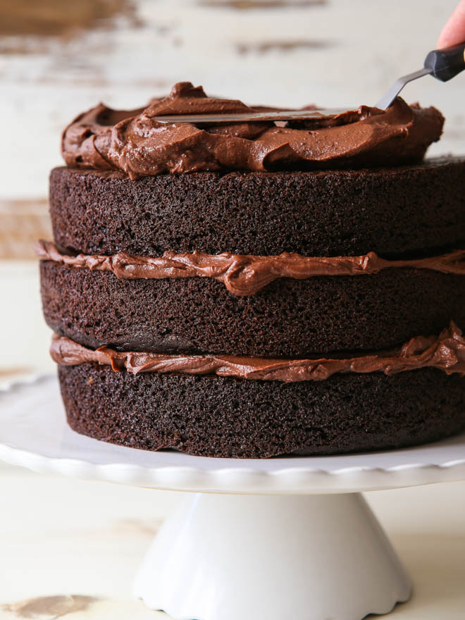 10 inch chocolate wedding cake recipe how to build a layered cake completely delicious 10003