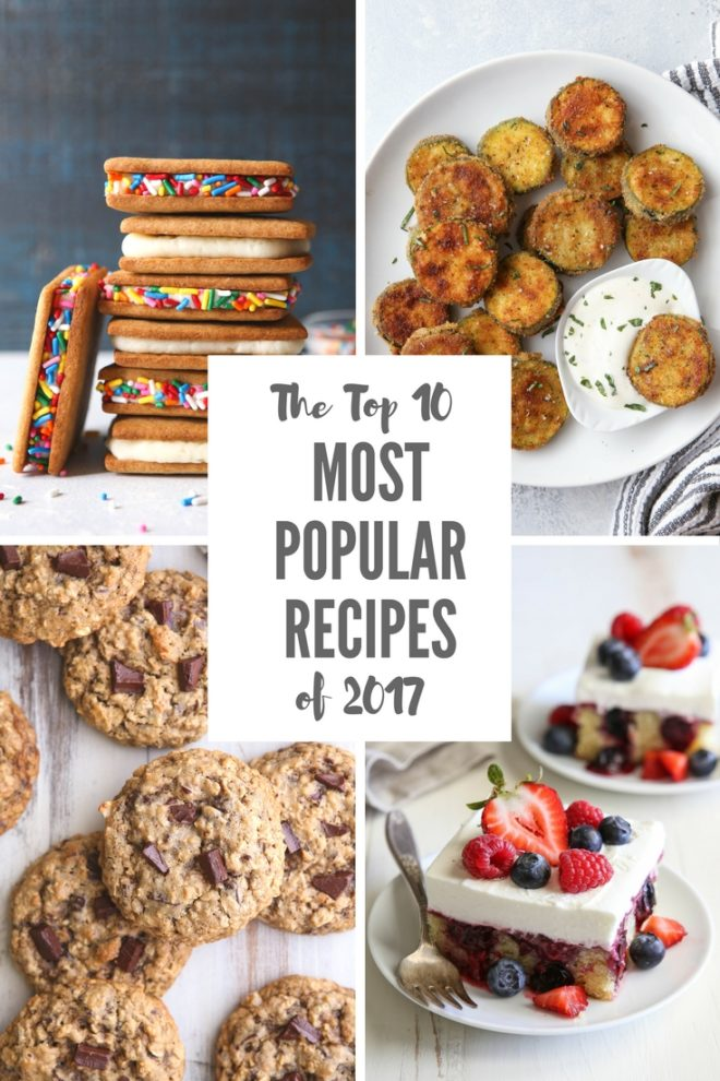 Top 10 Most Popular Recipes of 2017 from completelydelicious.com