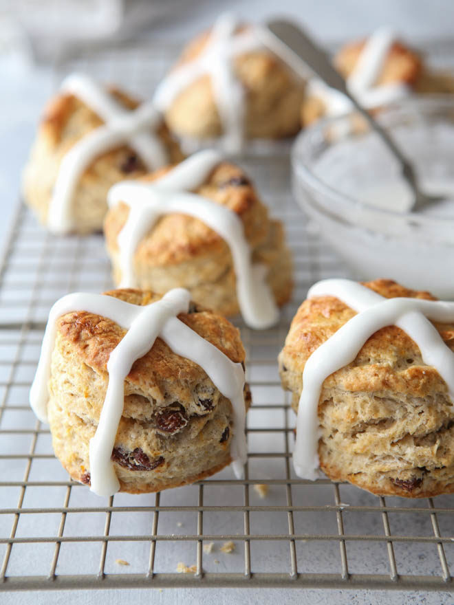 Hot cross buns are perfect for any weekend celebration