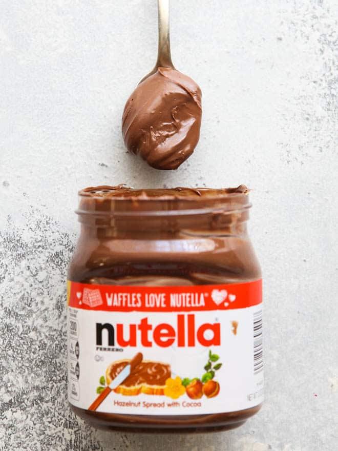 Nutella Rice Krispie Treats