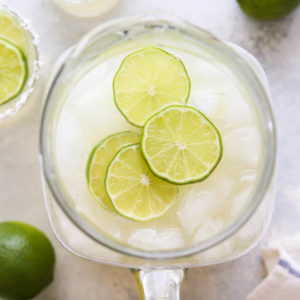 Drinks for a crowd couldn't be easier with these tin can margaritas!