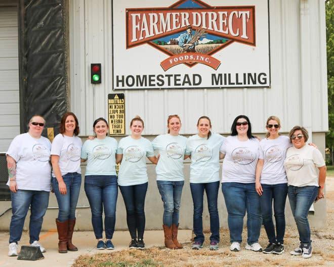 Farm mill tour