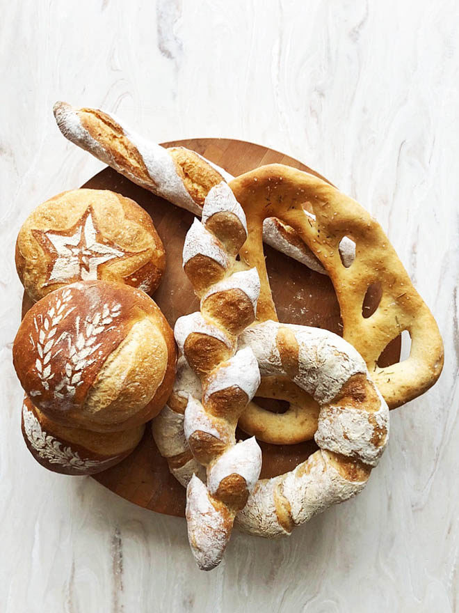 All made from one dough
