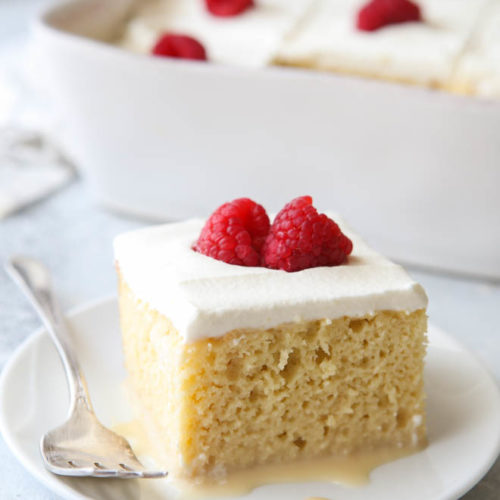 Classic tres leches is a simple but decadent dessert everyone will love!