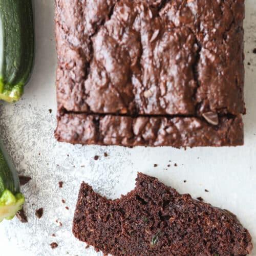 This the perfect chocolate zucchini bread recipe!