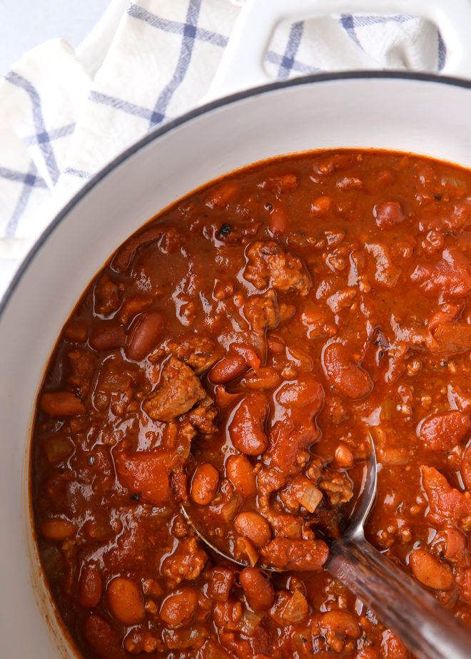 This easy weeknight chili comes together in as little as 30 minutes!