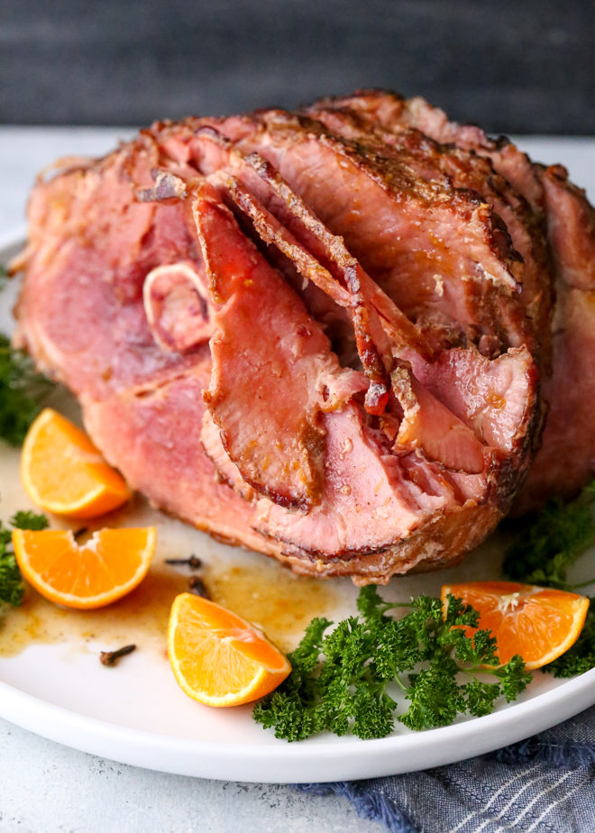 Citrus Spice Glazed Ham is an easy but impressive main dish