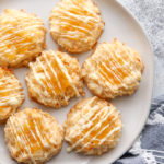 These pineapple coconut macaroons are sunny and delicious tropical cookies!