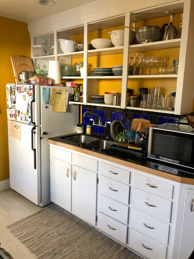 Completely Delicious Kitchen - Before