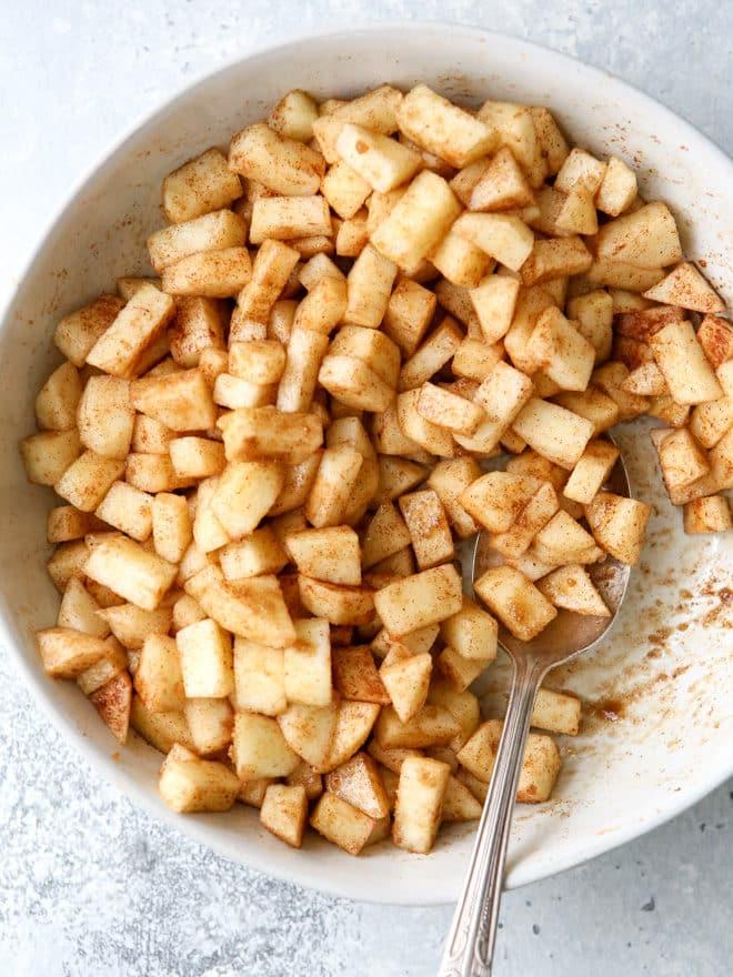 Cinnamon scented apples