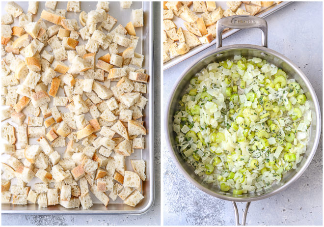 Making the easiest classic stuffing