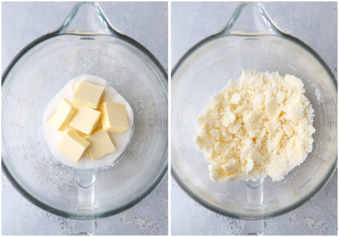 how to properly cream butter and sugar