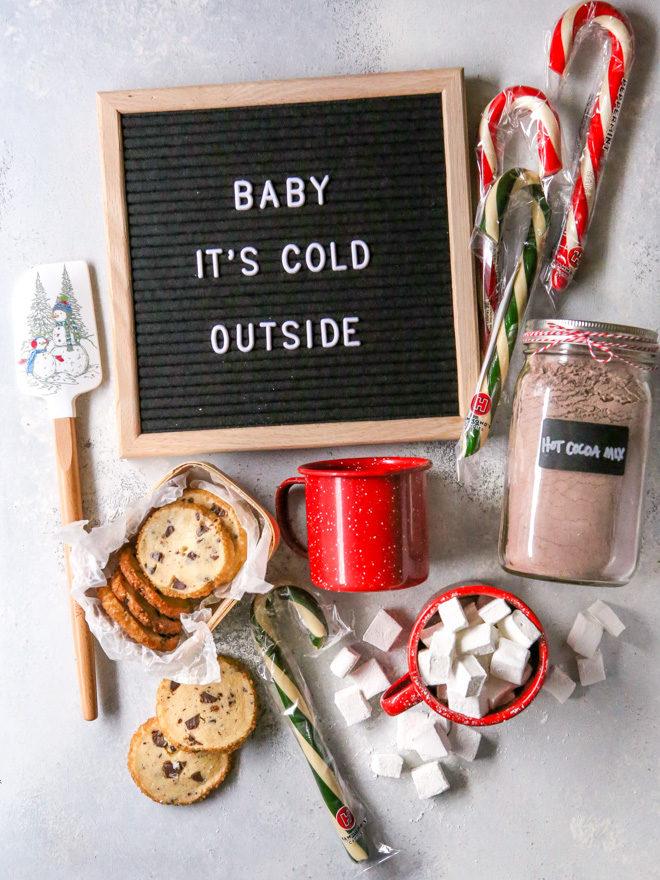 Homemade Hot Cocoa Gift Basket
