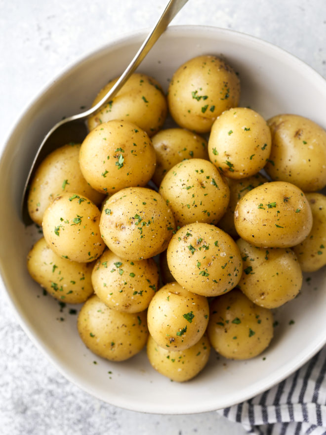 Buttery Boiled Potatoes